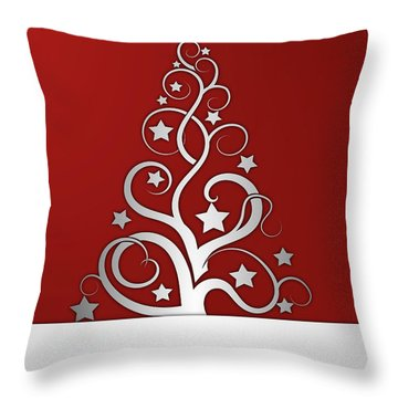 Christmas Card 23 Throw Pillow