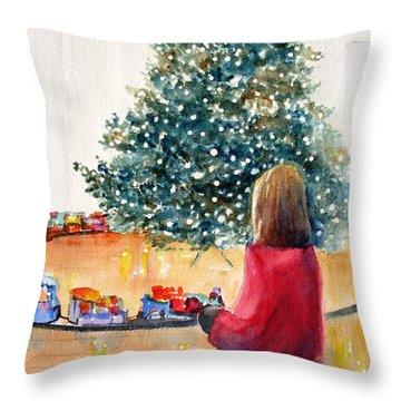 Christmas  Throw Pillow by Carlin Blahnik