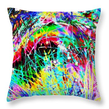 Christmas Throw Pillow by Carol Lynch