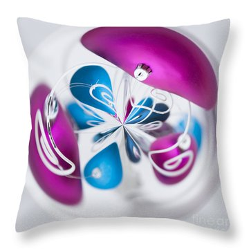 Christmas Chaos Throw Pillow by Anne Gilbert