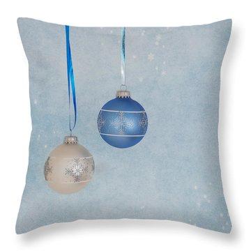 Christmas Elegance Throw Pillow by Kim Hojnacki