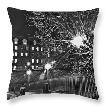 Christmas Fir Throw Pillow