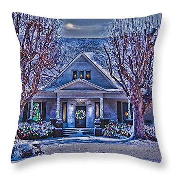 Christmas Memories Throw Pillow
