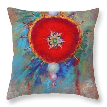 Christmas Ornament 1 Throw Pillow by M Diane Bonaparte