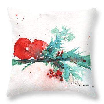 Christmas Theme 1 Throw Pillow