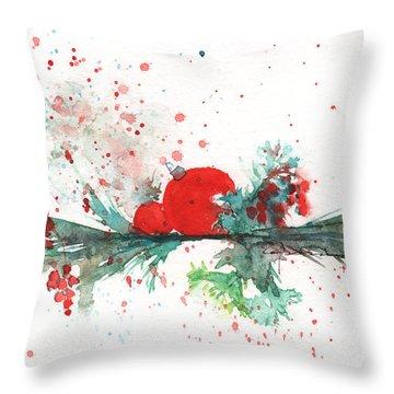 Christmas Theme 2 Throw Pillow