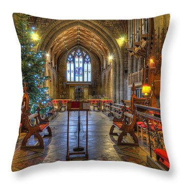 Christmas Time  Throw Pillow by Darren Wilkes
