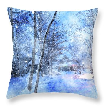 Christmas Wishes Throw Pillow
