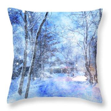 Christmas Wishes Throw Pillow