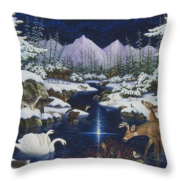 Christmas Wonder Throw Pillow