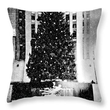 Christmasing With You Throw Pillow