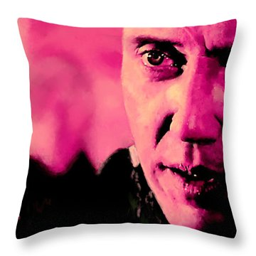 Christopher Walken @ Pulp Fiction Throw Pillow