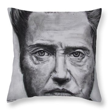 Christopher Walken Throw Pillow