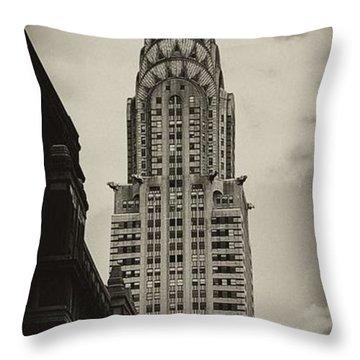 Chrysler Throw Pillow