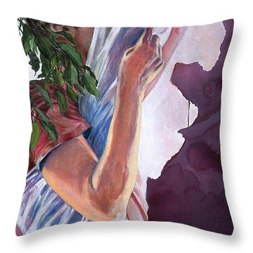 Chrysalis Throw Pillow