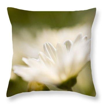 Chrysanthemum Flowers Throw Pillow