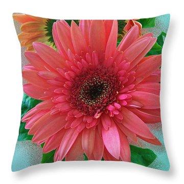 Throw Pillow featuring the photograph Chrysanthemum by Gena Weiser