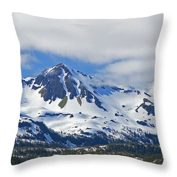 Throw Pillow featuring the photograph Chugach Mountains by Nick  Boren