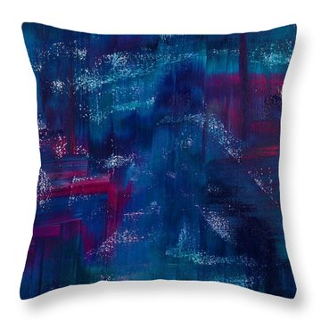 Chuppah Throw Pillow