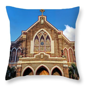 Throw Pillow featuring the photograph Church 1 by Dawn Eshelman
