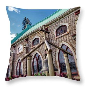Throw Pillow featuring the photograph Church 5 by Dawn Eshelman