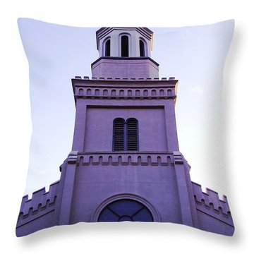 Church Throw Pillow by Andrea Anderegg