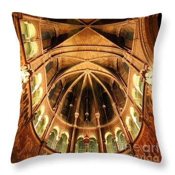 Church  Throw Pillow by Mariusz Czajkowski