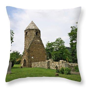 Church Of Avasi Rehely Throw Pillow