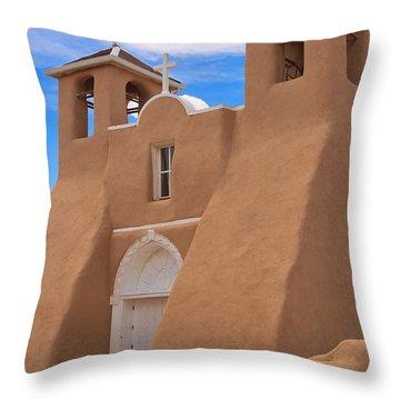 Church Of San Francisco De Asis Throw Pillow