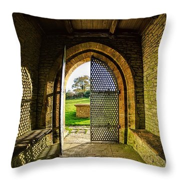 Church Of St Mary The Virgin Throw Pillow by Susie Peek