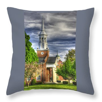 Church Of The Abiding Presence 1a - Lutheran Theological Seminary At Gettysburg Spring Throw Pillow