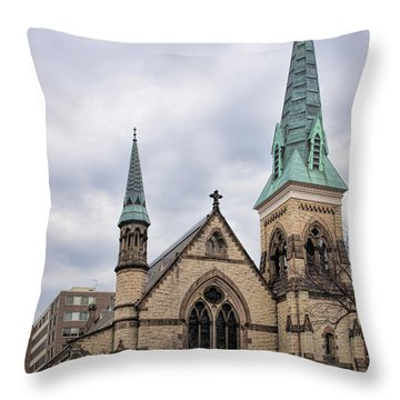 Church Of The Ascension And Saint Agnes Throw Pillow