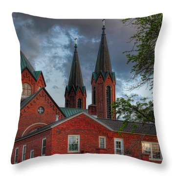 Church Of The Resurrection Throw Pillow