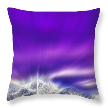 Church Steeple - Religious Freedom Throw Pillow by Steve Ohlsen