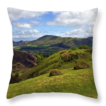 Church Stretton Throw Pillows