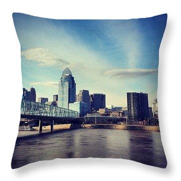 Cincinnati Throw Pillow