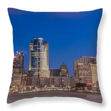 Cincinnati Morning Twilight Throw Pillow