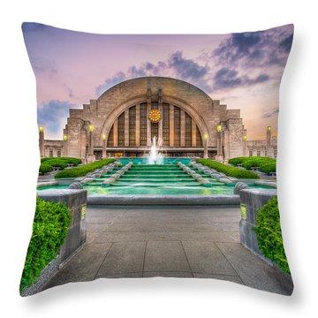 Cincinnati Museum Center Throw Pillow