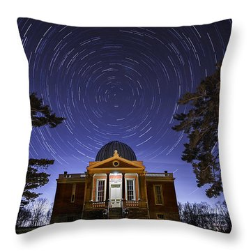 Cincinnati Observatory Throw Pillow