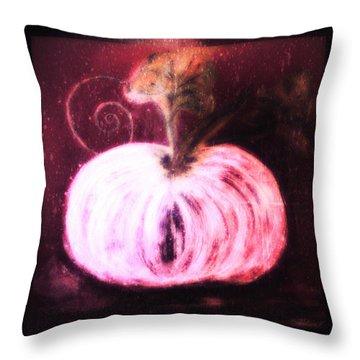 Cinderella's Pumpkin  Throw Pillow