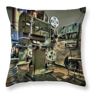 Cinematica Throw Pillow
