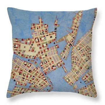 Cipher N. 13 Throw Pillow by Federico Cortese