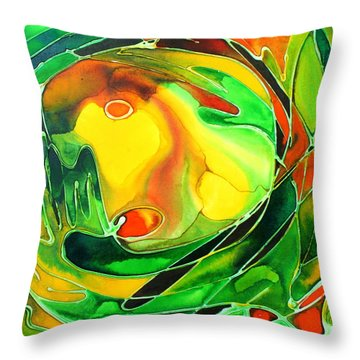 Circa Throw Pillow by Pat Purdy