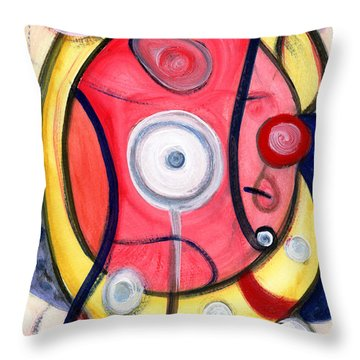 Circle For Lovers Throw Pillow by Stephen Lucas