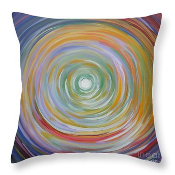 Circle In A Square Throw Pillow