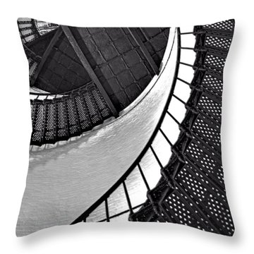 Circle In Square Throw Pillow