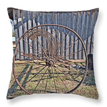 Throw Pillow featuring the photograph Circle by Linda Brown