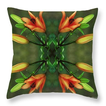 Circle Of Life Throw Pillow by Inspired Nature Photography Fine Art Photography