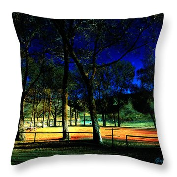 Throw Pillow featuring the photograph Circle Of Trust by Gunter Nezhoda
