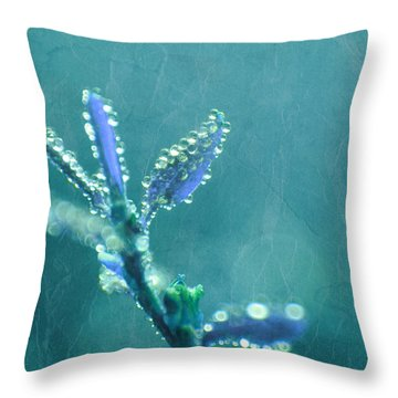 Circles From Nature - C4t04c Throw Pillow by Variance Collections